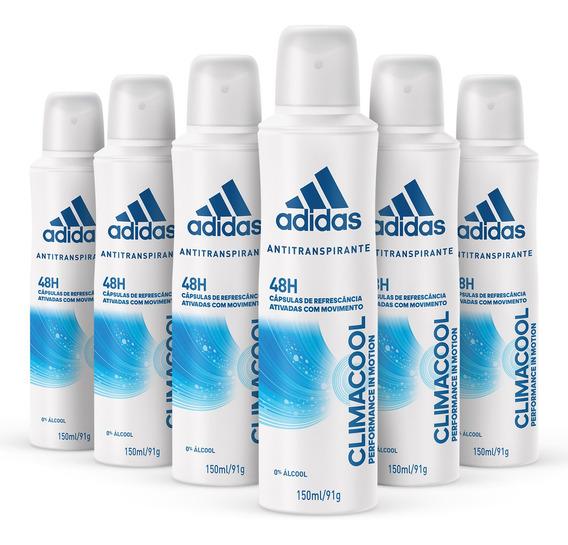 Kit Desodorante Aerossol adidas Climacool Feminino Com 150ml