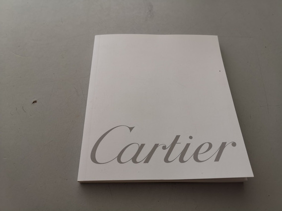 Libro Manual Cartier Roadster Original Motomaniaco