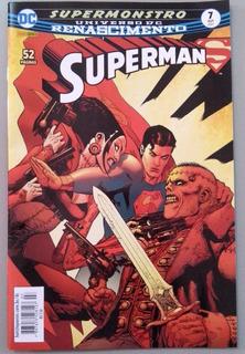 Hq Superman Renascimento Nº 7 Ed. Out/2017 - Supermonstro
