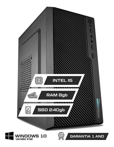 Computador Office Intel Core I5 8gb Ddr3 Ssd 240gb | C/ Nfe