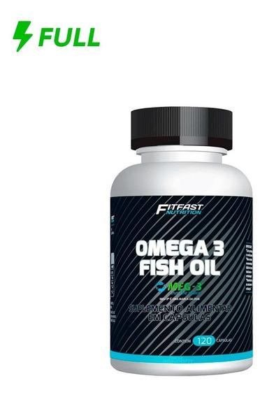 Ômega 3 Fish Oil Fit Fast Nutrition 120 Caps