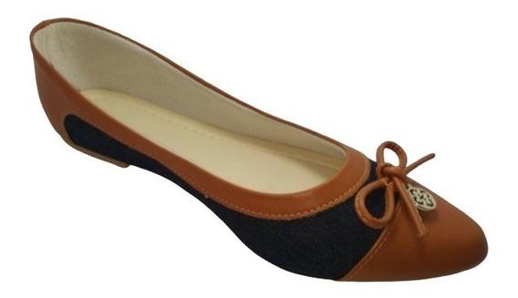 Sapatilha Feminina Luxo Confort Rasteirinha Sapato S/ Salto