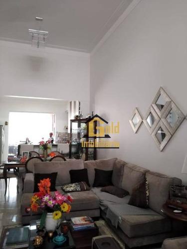 Casa Com 3 Dormitórios À Venda, 128 M² Por R$ 770.000 - Bonfim Paulista - Ribeirão Preto/sp - Ca0802