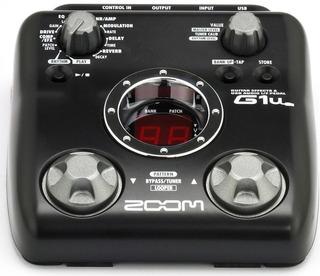 Zoom G1u Pedal Multi Efecto Guitarra Interfaz Usb