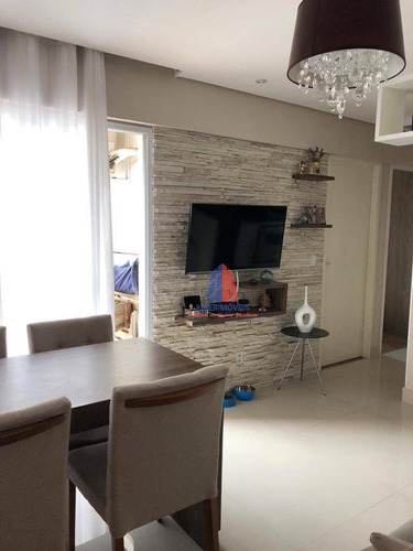 Apartamento Com 2 Dormitórios À Venda, 54 M² Por R$ 265.000 - Edifício Tatiana - Vila Dainese - Americana/sp - Ap1440