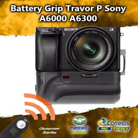Battery Grip Travor Para Sony A6000, A6300, Pronto Entrega