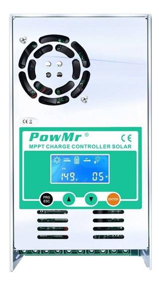 Controlador Regulador Carga 40a Solar Mppt Real 12/24/36/48v