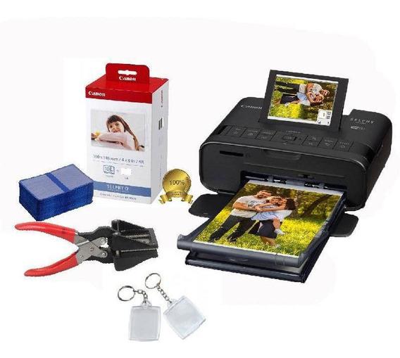 Impressora Canon Selphy Cp1300 + Cortador + Chaveiros 3x4