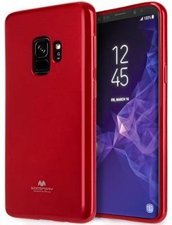 Mercurio Marlang Galaxy S9 Caso Rojo Protector De Pantalla L