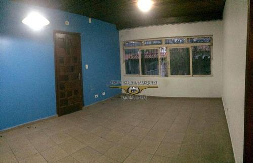 Casa Com 4 Dormitórios À Venda, 180 M² Por R$ 500.000,00 - Jardim Nossa Senhora Do Carmo - São Paulo/sp - Ca0557