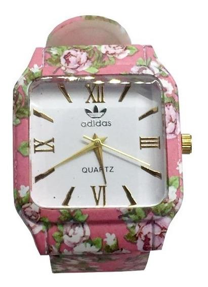 Relógio Feminino Floral