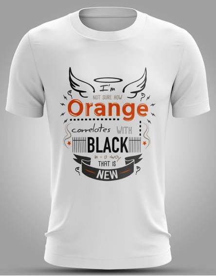 Camisa Da Série Orange Is The New Black