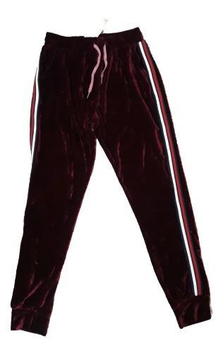 Pantalón Mujer Chifon C/puño Abrigado Talle M / L