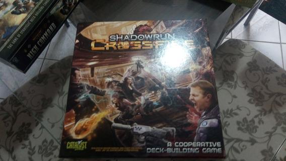 Shadowrun Crossfire - Deckbuilding Coop Importado