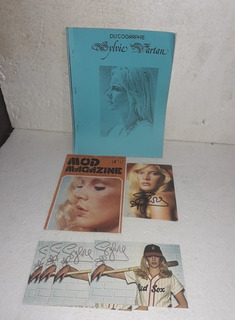 Discographie Sylvie Vartan Postales Mod Magazine 1975