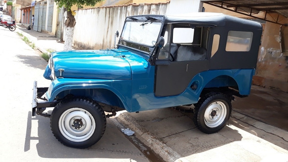 Jeep Willys 1957, Guardado Por Mais De 25 Anos, Original!!!