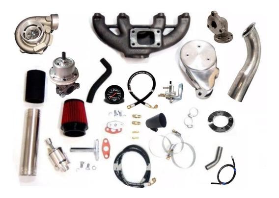 Kit Turbo Chevette C Motor Ap Carburado Mono + Turbina Zr