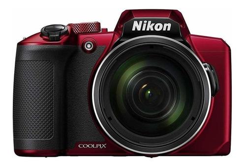 Imagem 1 de 4 de Nikon Coolpix B600 Compacta Cor  Vermelho