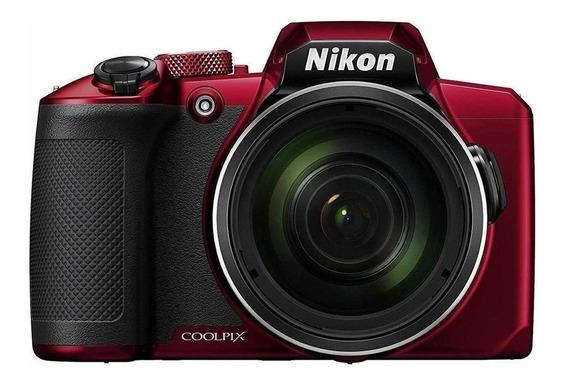 Nikon Coolpix B600 compacta avançada cor vermelho
