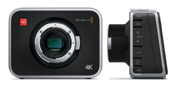 Filmadora Blackmagic Design Production Camera 4k