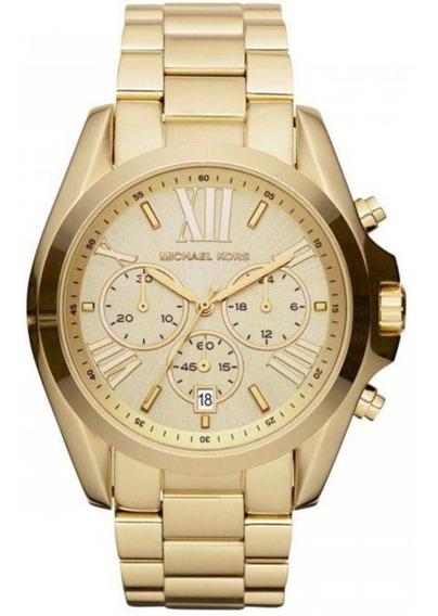 Relógio Michael Kors Mk5605-z Dourado