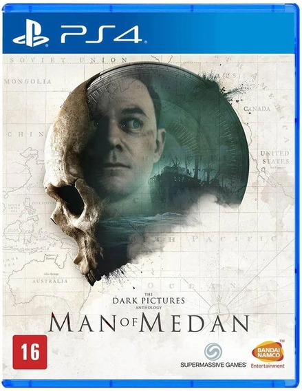 The Dark Pictures Man Of Medan Ps4 Mídia Física Novo Lacrado
