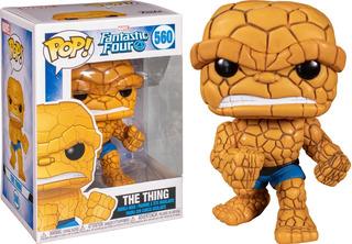 La Mole Funko Pop Cuatro Fantasticos Marvel The Thing