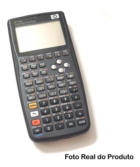 Calculadora Gráfica Hp 50g + Case - Super Conservada