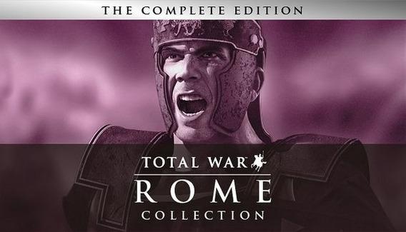 Rome Total War Collection Pc Steam Digital Ou Dvd
