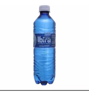 Fardo Com 12 Garrafas De Agua Mineral Ibira 510 Ml Sem Gáz