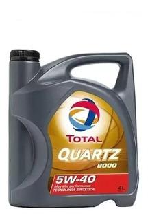 Aceite Total Quartz 9000 5w40 100 % Sintético X4l (zona Sur)