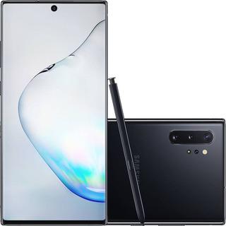 Samsung Galaxy Note 10 Plus Preto 256gb Original Br 3999,99