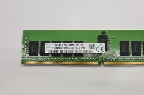 Memória 16gb Ddr4 2400t 2rx8 Ecc Rdimm R430 R730 R630 T430