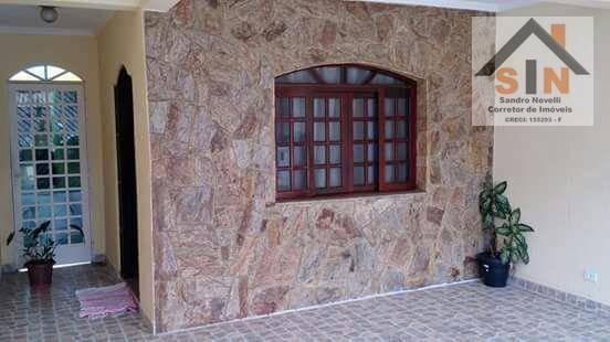 Sobrado Residencial À Venda, Jardim Bela Vista, Guarulhos. - So0025
