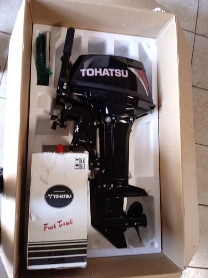 Motor Popa Tohatsu 18 Hp Novo Na Caixa + 4 Brindes
