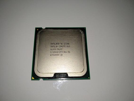 Processador Intel Core 2 Duo E7200 2.53ghz 3m 1066 Fsb