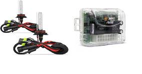 Kit Com 1 Módulo Vidro Soft Aw32 1 Kit Xenon H1 6006k