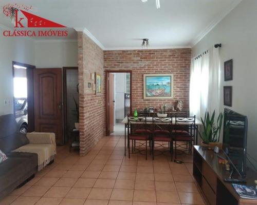 Vende-se Linda Casa Na City Ribeirão (170m²), Com Edicula (70m²) E Área De Lazer Com Uma Bela Piscina Recém Construída E Churrasqueira - Ca0122 - 68958959