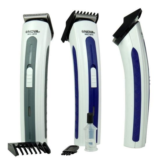 Máquina N Corta Cabelo Fazer Barba Pezinho Recarregável