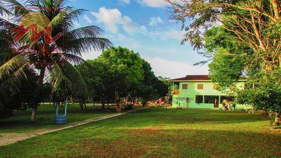 Chácara Com 4 Dormitórios À Venda, 15000 M² Por R$ 700.000 - Fazendinha - Macapá/ap - Ch0021