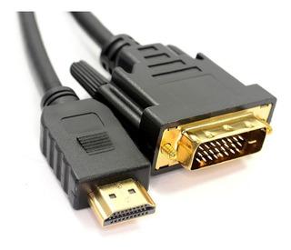 Cable Hdmi A Dvi Netmak C02 Hasta 1080i Apto Hdtv 2 Mts Cabl