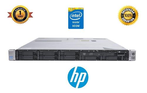 Servidor Hp Proliant Dl360p G8, Intel Xeon Sixcore 35-2620, 16 Gb Ram Ddr3 Ecc, 4 Portas De Rede Gigabit, Garantia 1 Ano