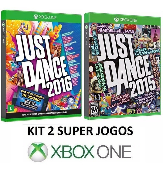 Just Dance 2016 + 2015 P/ Kinect - Midia Fisica - Xbox One