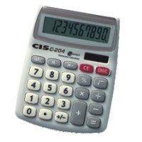 Calculadora De Mesa 10 Dig Mod C-204 10,7x13,3cm
