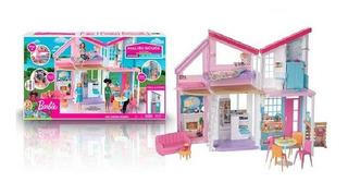 Barbie Casa Grande Malibu 2019 Oferta Envio Ya + 1 Muñeca