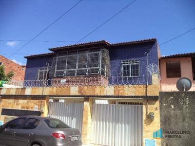 Casa Residencial Para Locação, Vila Velha, Fortaleza. - Codigo: Ca0408 - Ca0408