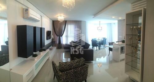 Imagem 1 de 20 de Ótimo Apartamento 3 Suítes, Com Área De Lazer Completa Em Região Central Mobiliado - 144