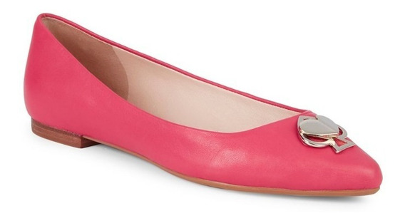Zapatos Flats Kate Spade Noah Heart Pendant Pointed Original