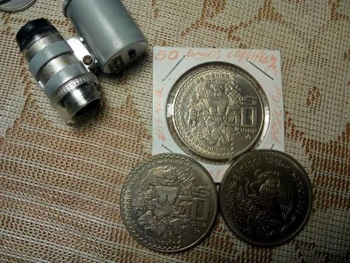 Imagen 1 de 6 de Moneda Coyolxauhqui 50 Pesos Unica En Su Tipo