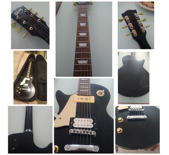 Guitarra Replica Chinesa Gibson Canhota